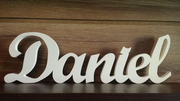 Daniela en letra cursiva