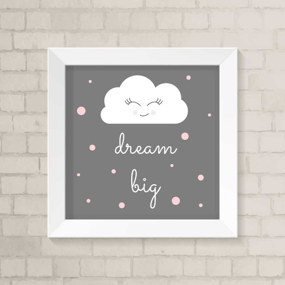 Quadro Infantil - Dream Big