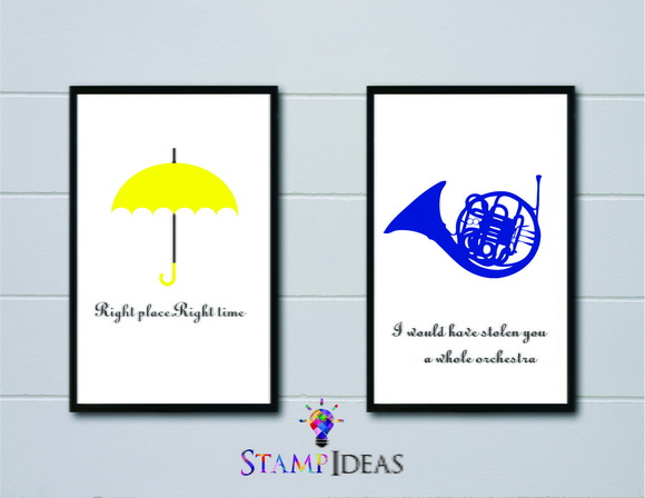 2 posters de How I Met Your Mother