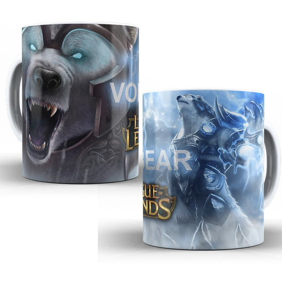 Caneca LOL League of Legends- Volibear