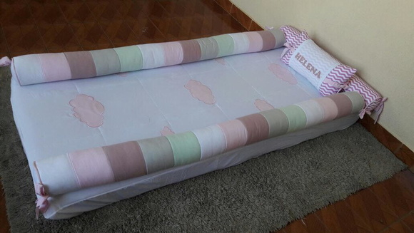 Kit cama Montessoriano rose e rosa