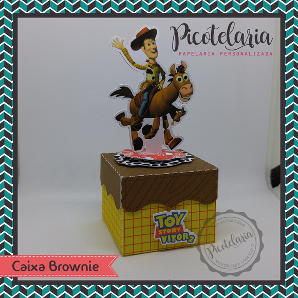 Caixa Brownie - Toy Story