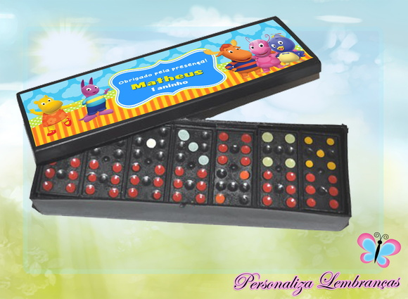 Domino Personalizado - Backyardigans