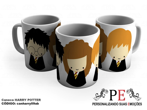 Caneca Harry Potter personagens