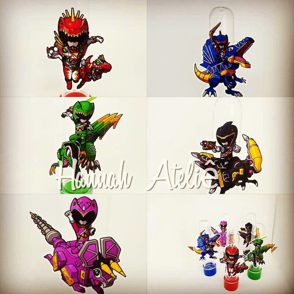 TUBETE POWER RANGERS DINO CHARGE