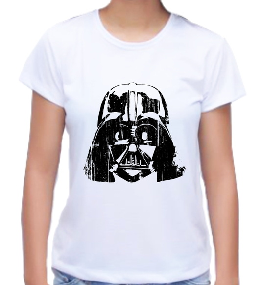 Camiseta Baby Look Star Wars 02