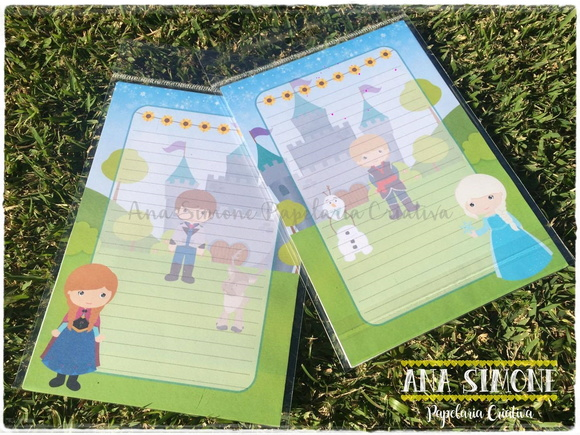 Papel de Carta Frozen