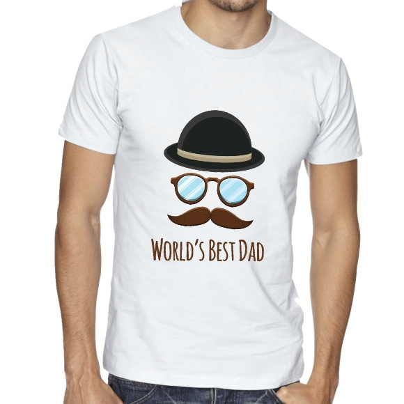 Camisa Masculina World's Best Dad