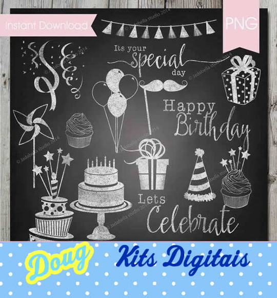 Chalkboard Kit digital 08