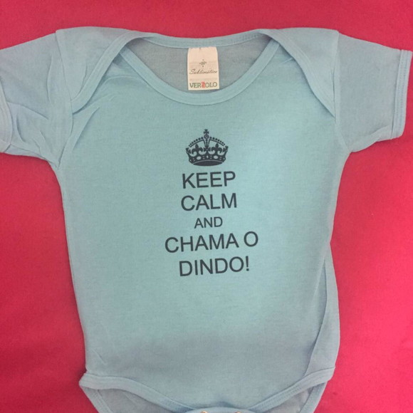 Body Keep calm chame o dindo