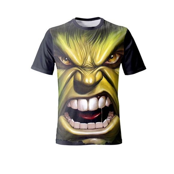 Camiseta do Hulk - Infantil
