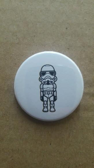 Botton Starwars (kawaii)