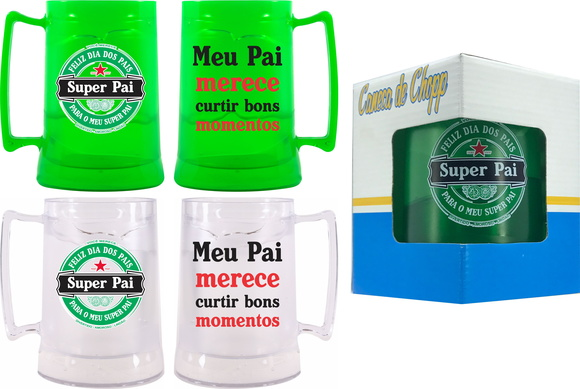 CANECA COM GEL CONGELANTE 450ML - DIA DO