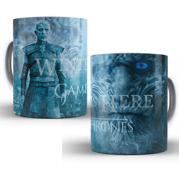 Caneca Game of Thrones - Winter Is Here