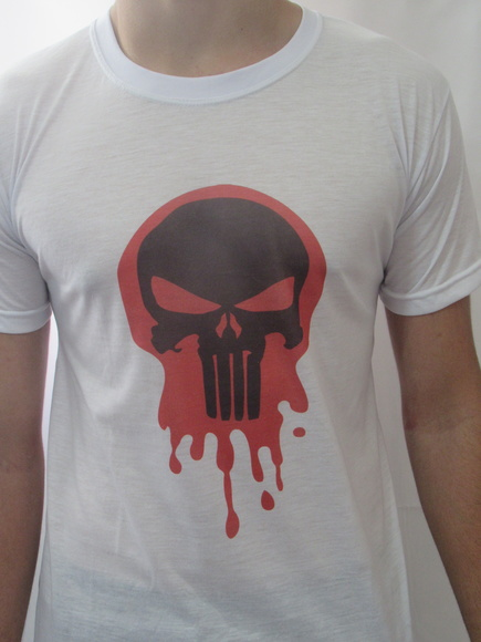 Camiseta Justiceiro / The Punisher