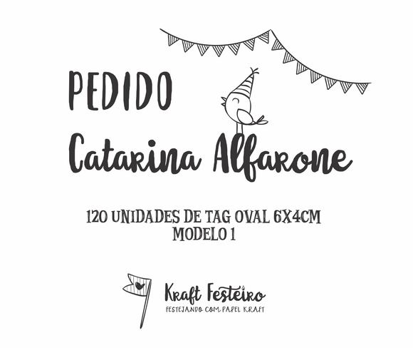Pedido Catarina Alfarone