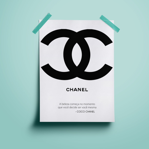 Poster Coco Chanel #1