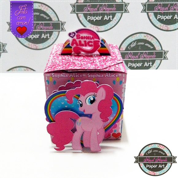 Caixa com alça My Little Pony Pinkie Pie
