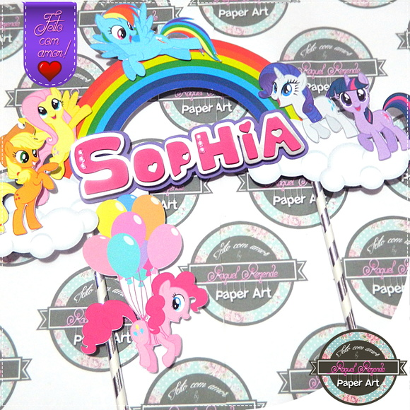Topper bolo My Little Pony