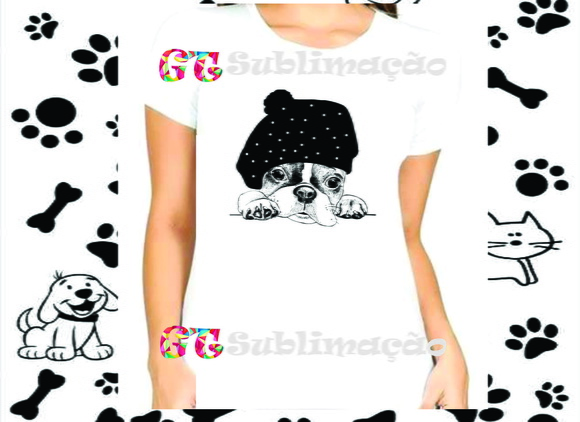 Camiseta Personalizada Estampa de Dog