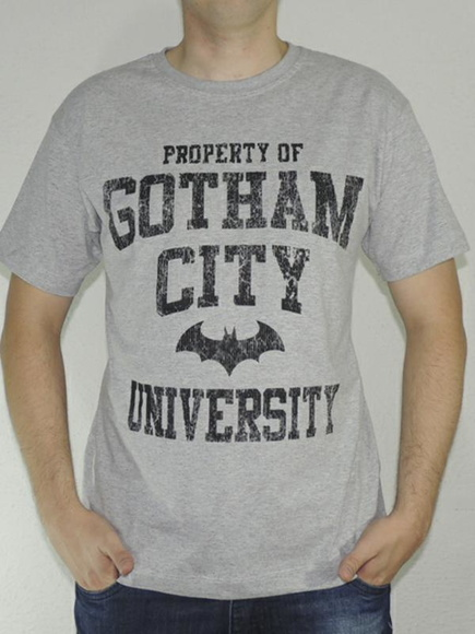 Camiseta Batman Gotham City University