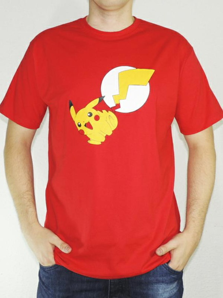 Camiseta Pikachu Flash