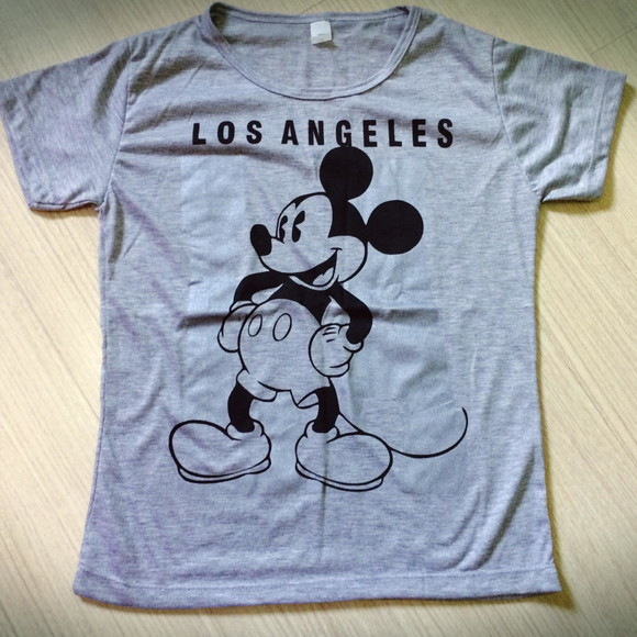 Camiseta T shirt mickey