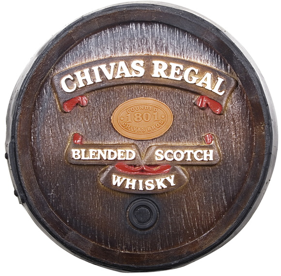 Tampa Barril Decorativo ChivasRegal 26cm