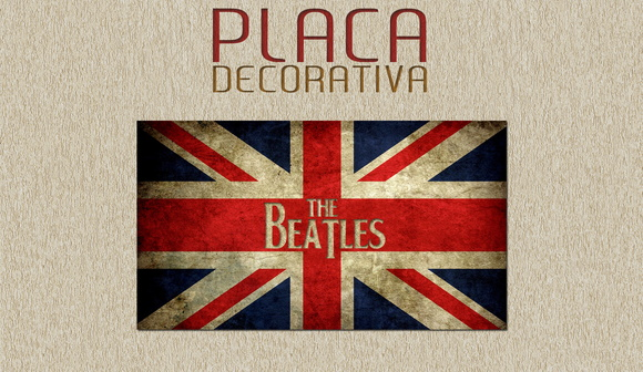 PLACA DECORATIVA - MUSICA