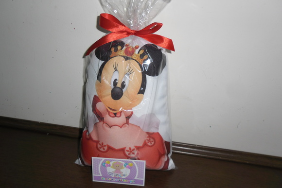 Almofada minnie princesa no formato