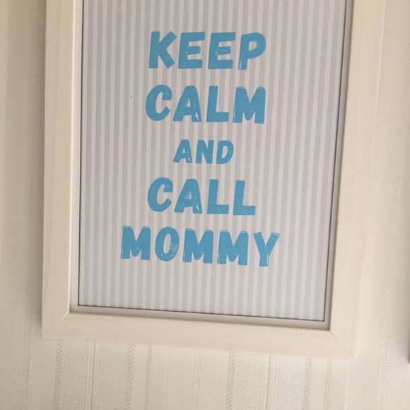 Quadro keep calm and call mommy