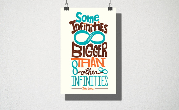 Poster A3 Some infinities