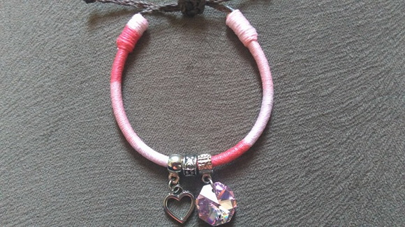 Pulseira colors tons de Rosa