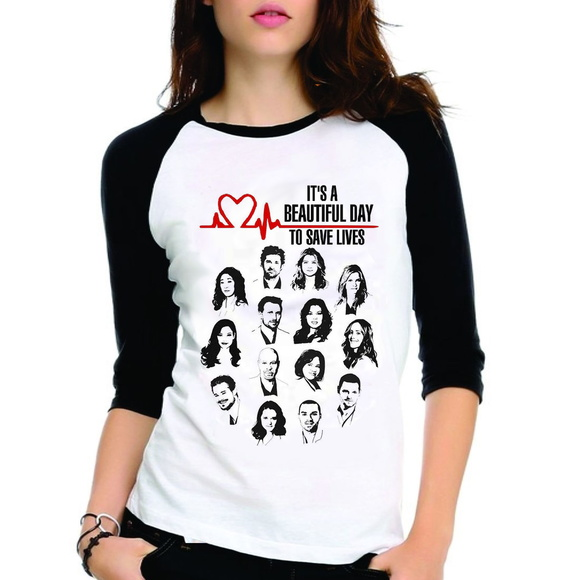 Camiseta Greys Anatomy Beautfiul Day