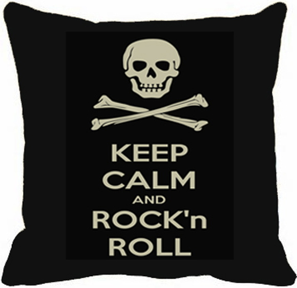Almofada Keep Calm Rock in Roll