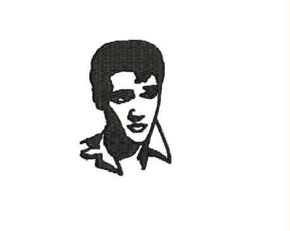 Patch Bordado Termocolante Elvis Presley