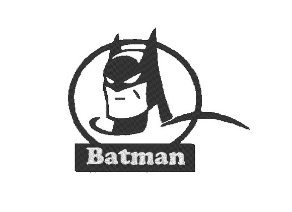 Matriz de bordado - Batman 2