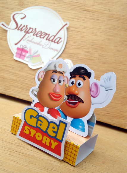Caixa Chocolate Duplo - Toy Story