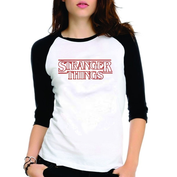 Camiseta Stranger Things Raglan 3/4