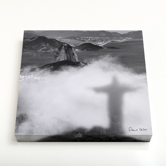 Quadro 24 Sombra do Cristo Redentor nas