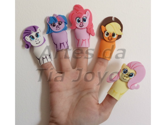 Kit de Dedoches My Little Pony