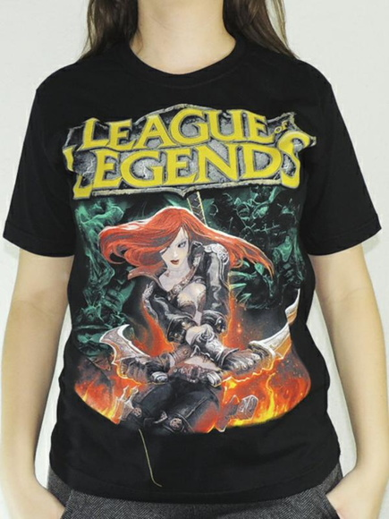 Camiseta League Legends lol Katarina