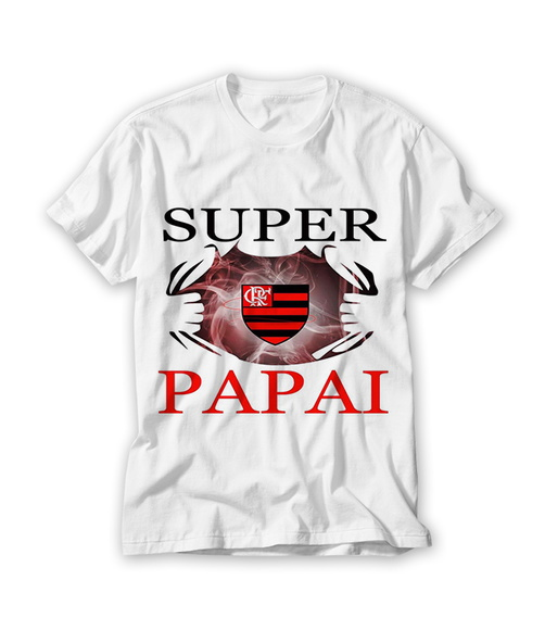 Camiseta Super Papai Flamenguista