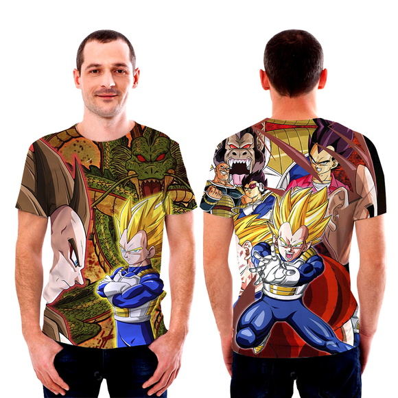 Camisetas Camisa Vegeta Dragon ball Z