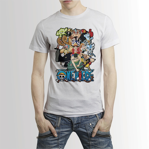 Camisa Anime Camiseta One Piece - A4
