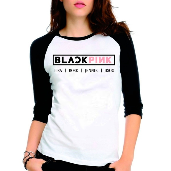 Camiseta BlackPink KPOP Lisa Rose Jennie
