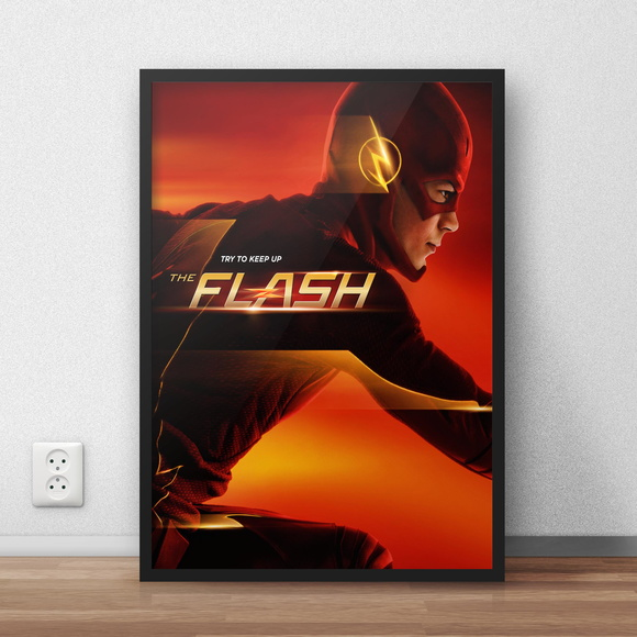 "pôster ""the flash"""