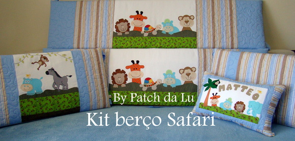 Kit berço Safari