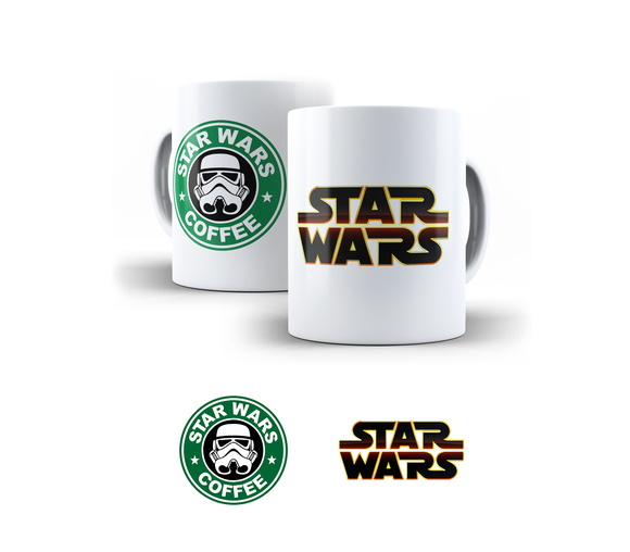 Caneca Star Wars Coffee - Stromper