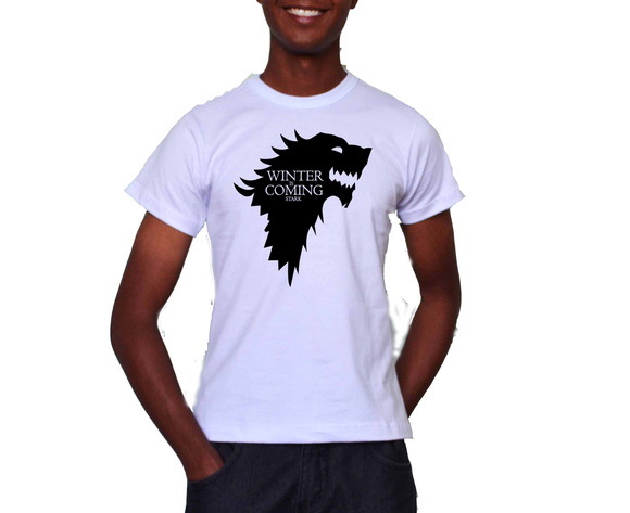 Camiseta Winter is Coming (GTO) Promoção